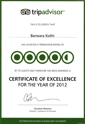 Certificate Excellence